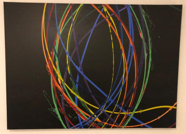 Acrylgemälde Leinwand Pendelkunst