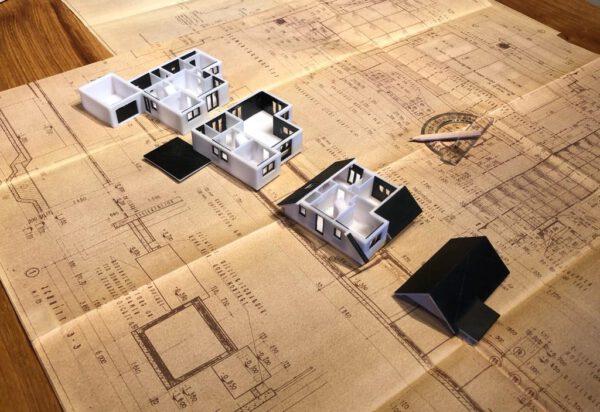 3D Druck Modell Haus