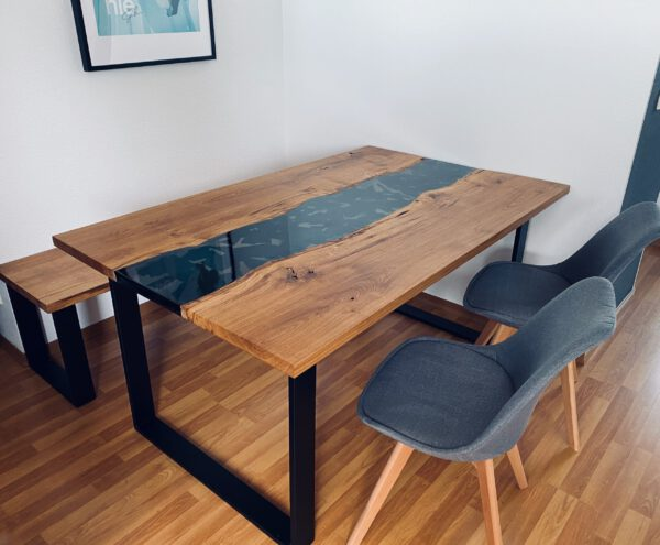 Epoxy River Table Vinyl